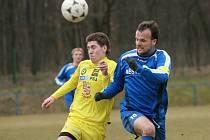 Z přípravného utkání FK Kolín - Jihlava B (0:4).