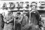Sametová revoluce v Kolíně.