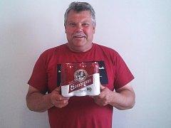 Miroslav Milbach z Třebovle získal karton piv značky Gambrinus.