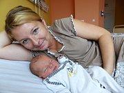 Vít Nouzák se narodil 27.10.2018, vážil 3460 g a měřil 50 cm. V Nesměni se na něj těší bráška Vojtěch (4,5) a rodiče Radka a Jiří.