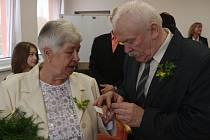 Zlatá svatba manželů Žižkových