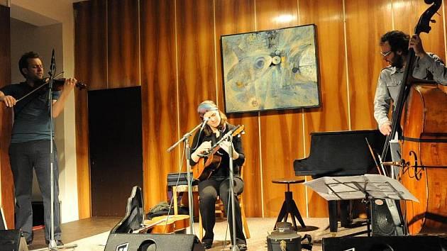 Koncert Marty Töpferové v Městském společenském domě