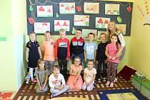 Děti ze Základní školy Veltruby.