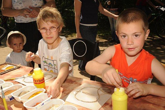 Den země přilákal do Borků stovky lidí. 25.4.2009