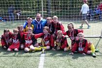 Vítězné družstvo mladší kategorie- 5. ZŠ Mnichovická.