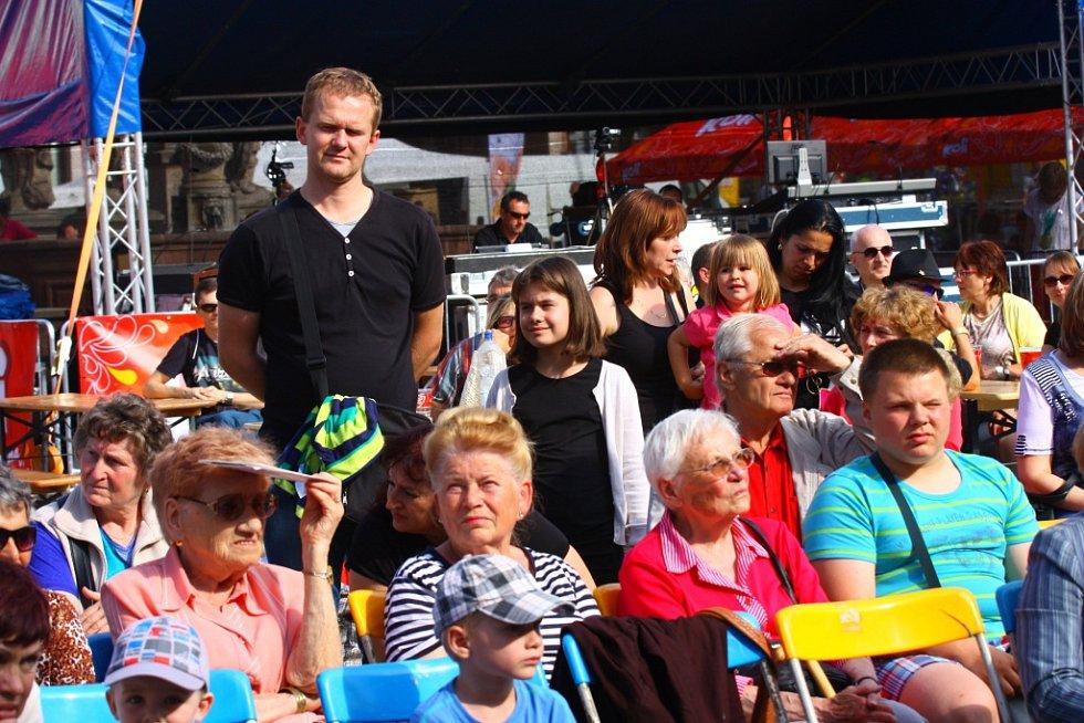 53. ročník Kmochova Kolína - den první