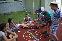 Námořnické odpoledne si užily děti ve školní družině.