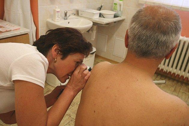 Evropský den melanomu v Oblastní nemocnici Kolín