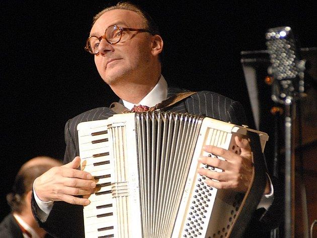 Zpěvák Ondřej Havelka.