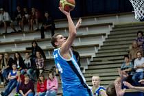 Z přátelského utkání BC Geosan Kolín  Sokol Kbely (90:38).