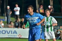 Z utkání ČFL mezi Kolínem a Chomutovem (3:0).