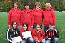 Vítězky kategorie žen z Bulánky.