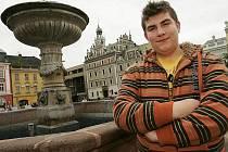 Student Dominik Chochola z Kolína soutěží na MTV.