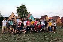Na Volárně si kolínští skauti a mladiství z Ukrajiny užili spoustu zábavy.