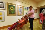 Číslovku dvacet tři má za svým názvem letošní výstava finálových prací celostátní přehlídky výtvarných prací osob smentálním postižením nazvaná Radost.