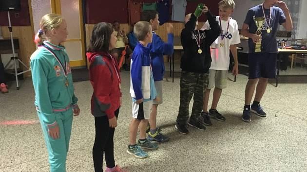 Letního tábora se zúčastnilo 62 dětí z basketbalového klubu BC Kolín.