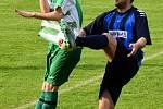 Z utkání Nučice - Radim (3:0).