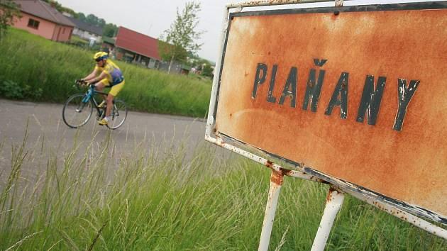 Sobotní cyklistická časovka v Plaňanech