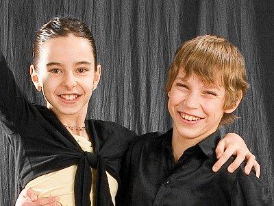 Cílem Kateřiny Zajícové a Jiřího Váchy je dosáhnout v rekordním čase vyšší taneční třídy.