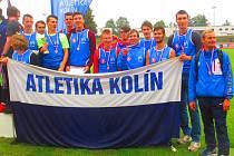 Družstvo kolínských juniorů.