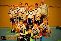 Nejmladší zástupci kolínského florbalu skončili na posledním turnaji třetí.