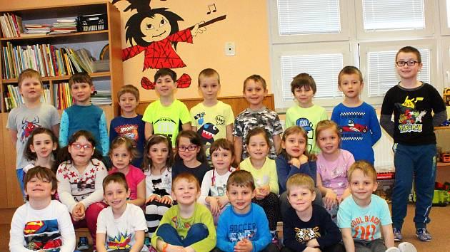 Děti v Mateřské škole v Konárovicích.