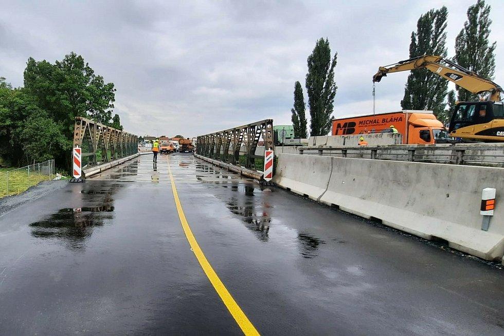 Z mostní prohlídky před uvedením mostu do provozu