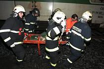Na železniční trati u Starých lázní v Kolíně srazil vlak zřejmě přecházejícího muže.
