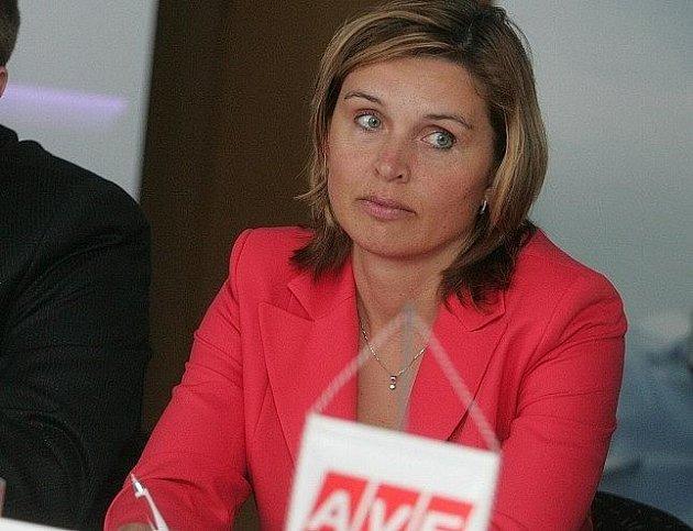 Věra Suchomelová, jednatelka společnosti AVE Kolín