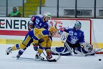 Z utkání II. NHL Kolín - Nymburk 5:6 sn.