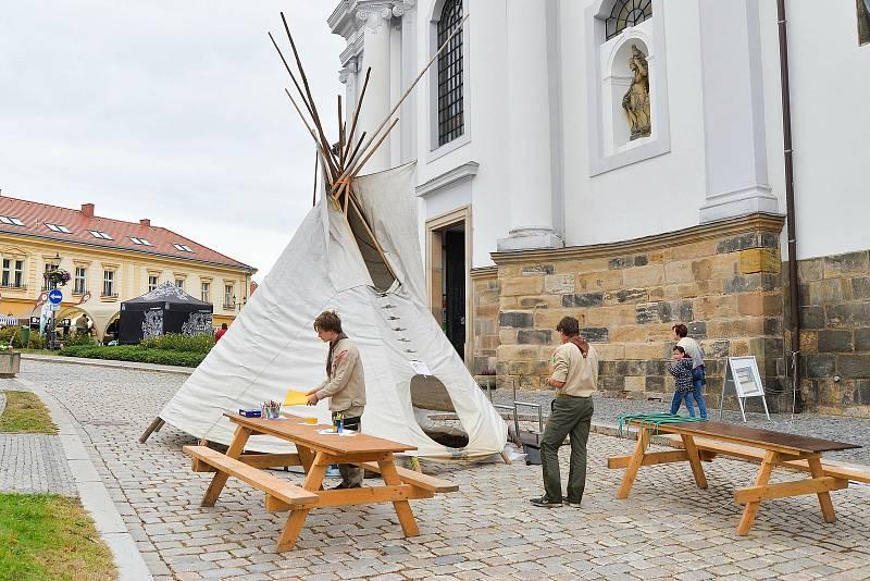 Z Gothardského posvícení 2021 v Českém Brodě.