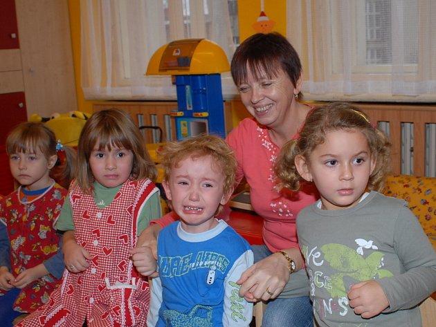 Mikulášská nadílka v Mateřské škole Štítného v Kolíně.