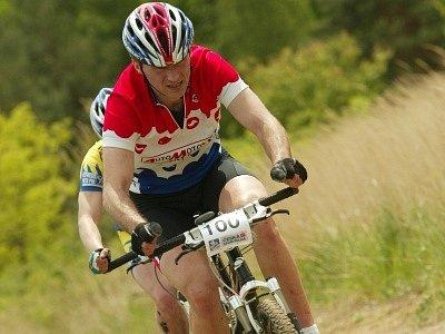 Propadák. O cyklistické mistrovství středních Čech byl minimální zájem.