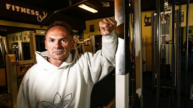 Majitel kolínského Fitness clubu Stap Václav Podnecký.
