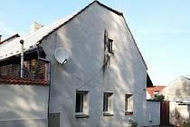 Rodný dům Václava Morávka v Luční ulici na kolínském Zálabí.