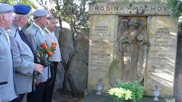 Muzikanti Harmonie 1872 uctili památku Františka Kmocha
