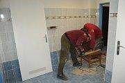 Rekonstrukce toalet v Městském společenském domě v Kolíně