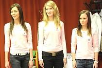 Poprvé se v sobotu v malém sále kolínského Městského společenského domu mělo sejít deset finalistek letošní soutěže Miss Kolínska 2008