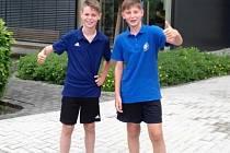 Michal Ditrich (vlevo)a Vít Klepal.