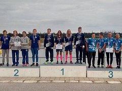 Kolínská štafeta skončila na třetím místě.