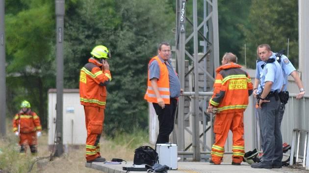 Muže srazil vlak poblíž zastávky Kolín-zastávka