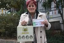 Marie  Melichová získala za své tipy poukaz do pizzerie Týna v hodnotě 200,-Kč,  karton piv značky Rohozec a poukaz na cvičení SlimBelly.