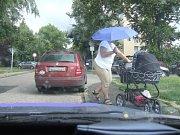 Parkování v Kolíně