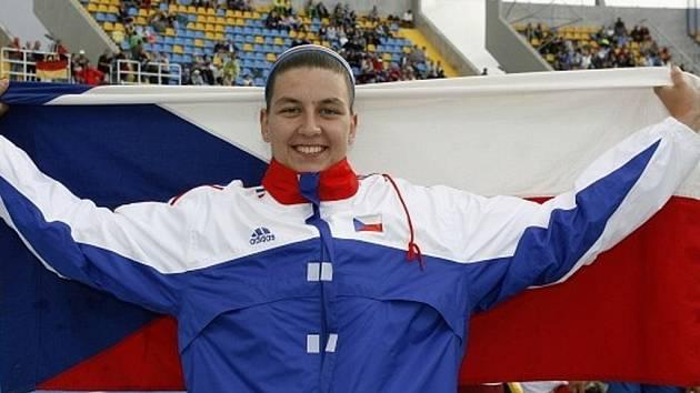 Kolínská atletka Kateřina Šafránková se stala v litevském Kaunasu vicemistryní Evropy