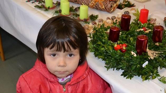Vánoční výstavu uspořádali ve Velimi