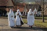 Ve skanzenu oslavili stříbrnou adventní neděli.