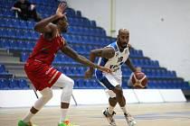 Z utkání 19. kola NBL BC Kolín - Svitavy (84:80).