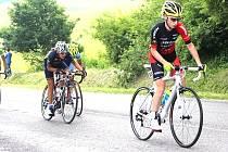 Jana Czeczinkarová skončila na mistrovství republiky v silniční cyklistice v kategorii juniorek na druhém místě.