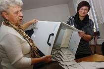 Volby a sčítání hlasů ve štítarském okrsku