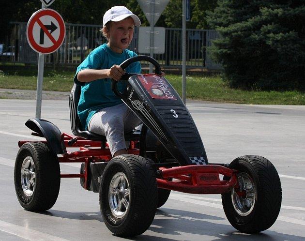 Naši nejmladší motoristé na dopravním hřišti